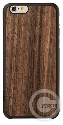 Чехол OZAKI O!coat-0.3+Wood Walnut для iPhone 6