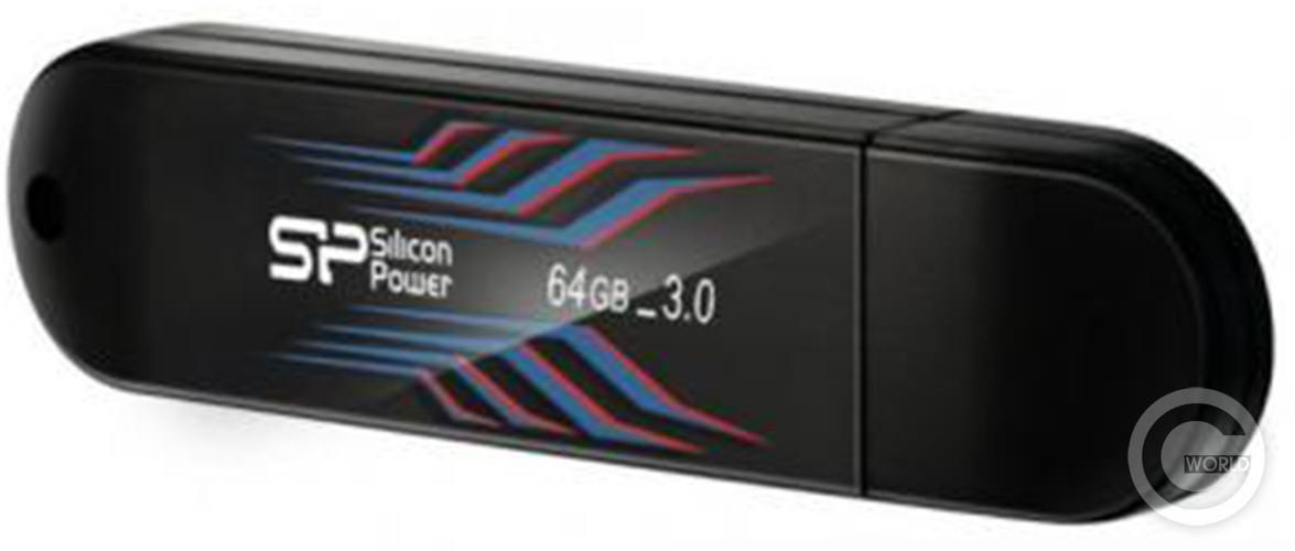 Флеш-драйв SILICON POWER Blaze B10 64Gb USB 3.0