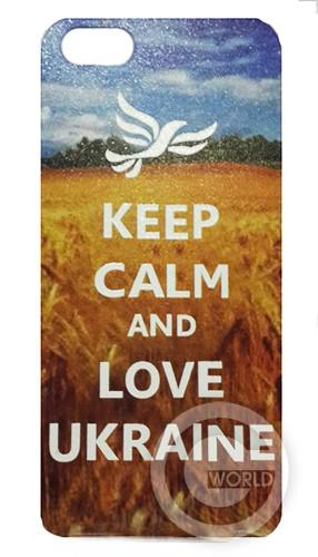 накладка для iPhone 5/5S Keep Calm