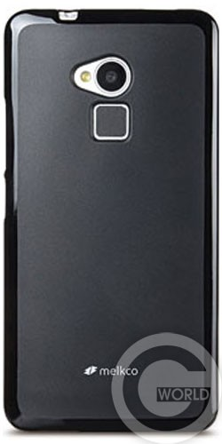 Чехол Melkco Poly Jacket TPU cover для HTC One Max/T6, black