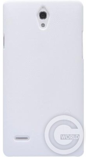 Чехол NILLKIN Huawei G700 - Super Frosted Shield, white