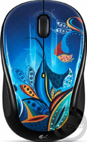 Компьютерная мышь Logitech Wireless mouse M325, Paisley Pond