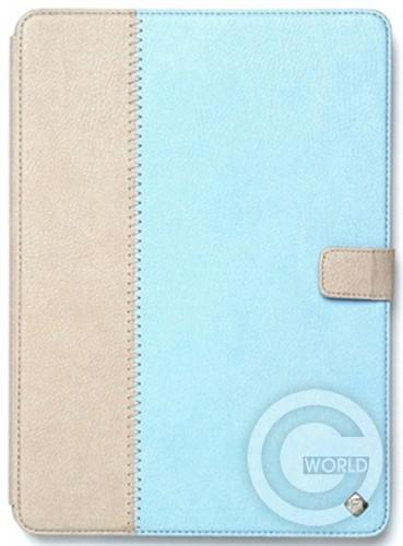 Купить Zenus iPad Air Leather Case Masstige Leather E-Note Diary Series, Sky Blue