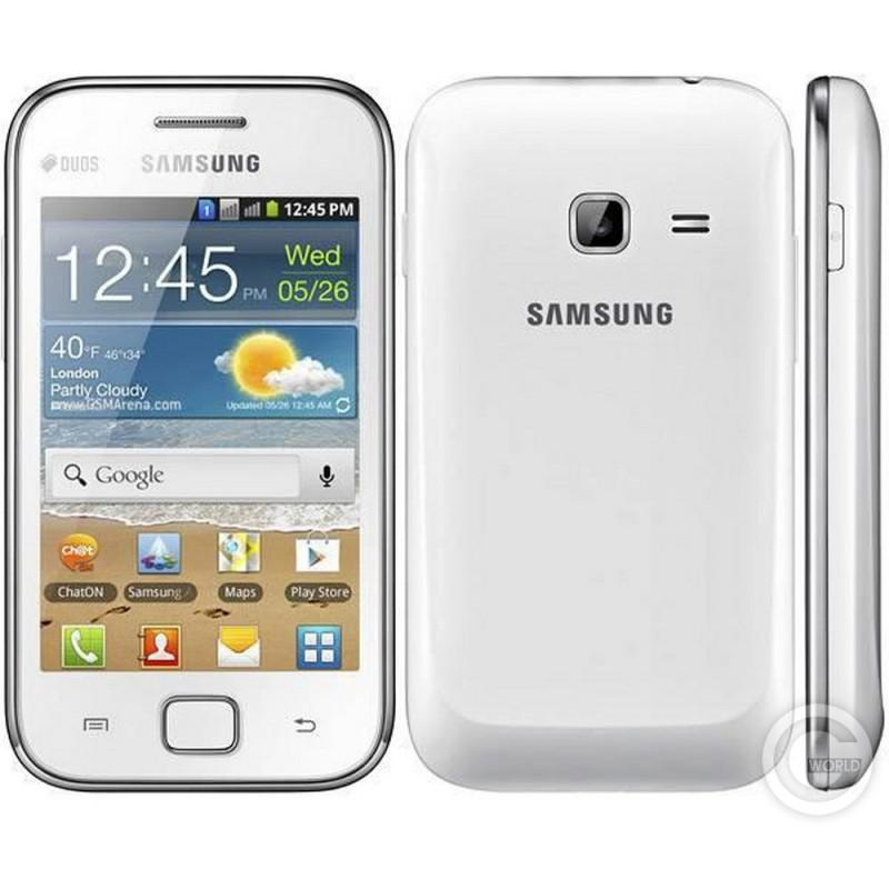 Galaxy Ace Duos GT-S6802 Chic White Вид 2