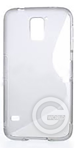 Чехол TPU case for Samsung S5 G900 White