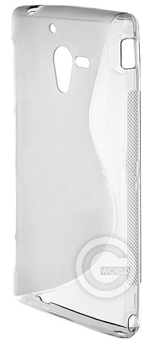Чехол TPU case for Sony LT35 White