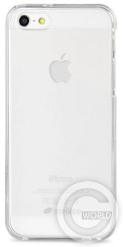 Melkco Poly Jacket TPU cover for iPhone 5C, transparent