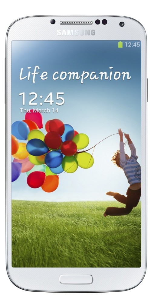 Galaxy S4 GT-I9500 White frost