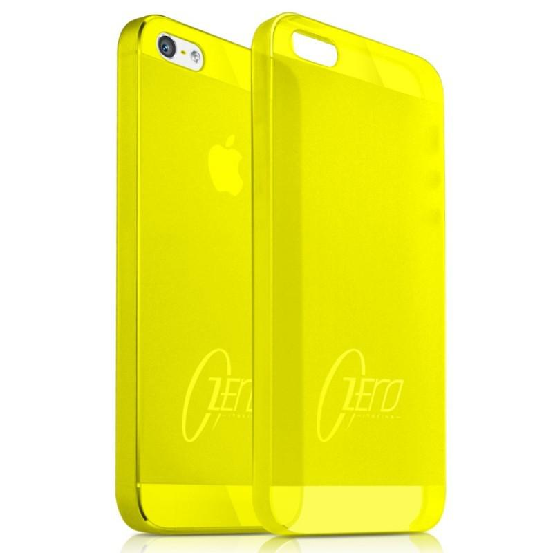 itSkins Zero.3 cover case for Samsung i9500 Galaxy S4, yellow [SGS4 ZERO3 YELW]