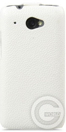 Чехол Melkco Book leather case for HTC Desire 601, white