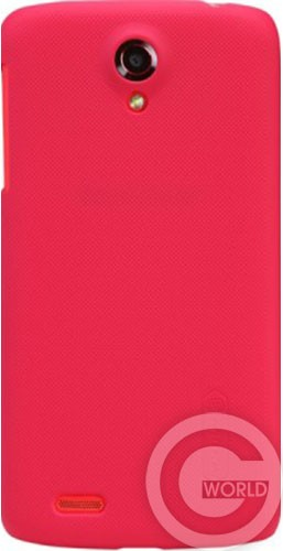 Чехол NILLKIN Lenovo S820 - Super Frosted Shield, red