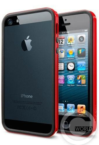 SGP iPhone 5S/5 Case Neo Hybrid EX Slim Vivid Series Dante Red