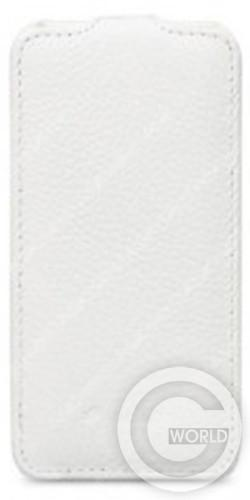 Чехол Melkco Jacka leather case for Lenovo A390, white