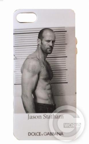 TPU case D&G 5/5s Jason Statham White