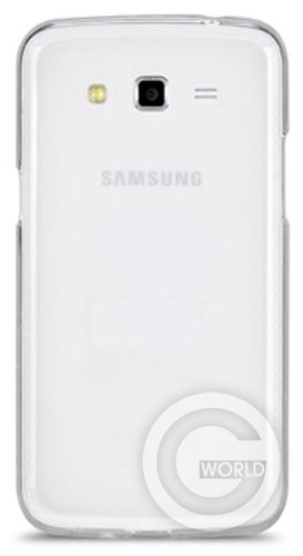 Чехол TPU case для Samsung Galaxy Grand 2, White
