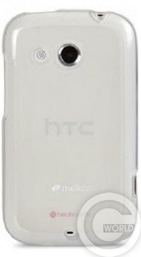 Купить чехол Melkco Poly Jacket TPU cover для HTC Desire SV, transparent
