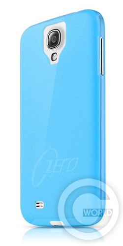 itSkins Zero.3 cover case for Samsung i9500 Galaxy S4, blue