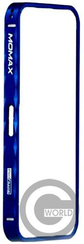 бампер Momax Pro Frame for iPhone 5 Blue