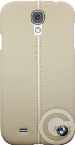 Чехол BMW Leather Hard case for Galaxy S4 Cream