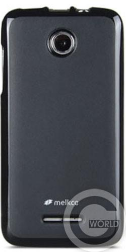 Чехол Melkco Poly Jacket TPU cover for Lenovo A390, black