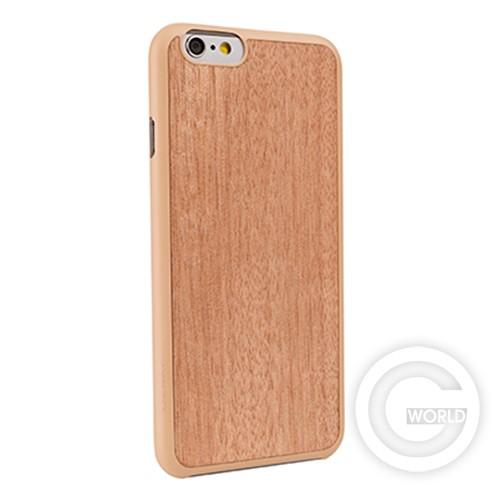 Чехол OZAKI O!coat-0.3+Wood Ebony для iPhone 6  Вид 2