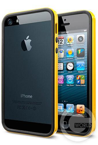 SGP iPhone 5S/5 Case Neo Hybrid EX Slim Vivid Series Reventon Yellow