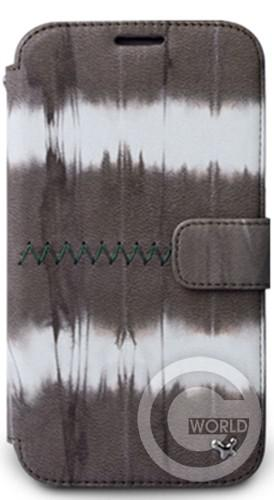 Купить Zenus Samsung  Galaxy Note 2 Prestige TIE DYEING Diary Series, Brown