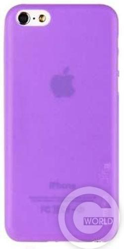 Чехол Melkco Air PP 0.4 mm cover case for iPhone 5C, purple