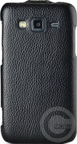 Чехол Melkco Jacka leather case для Samsung Galaxy Core Advance i8580, Black