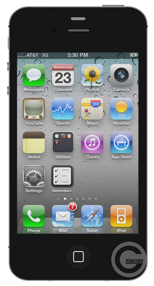 iPhone 4S 8 Gb Black
