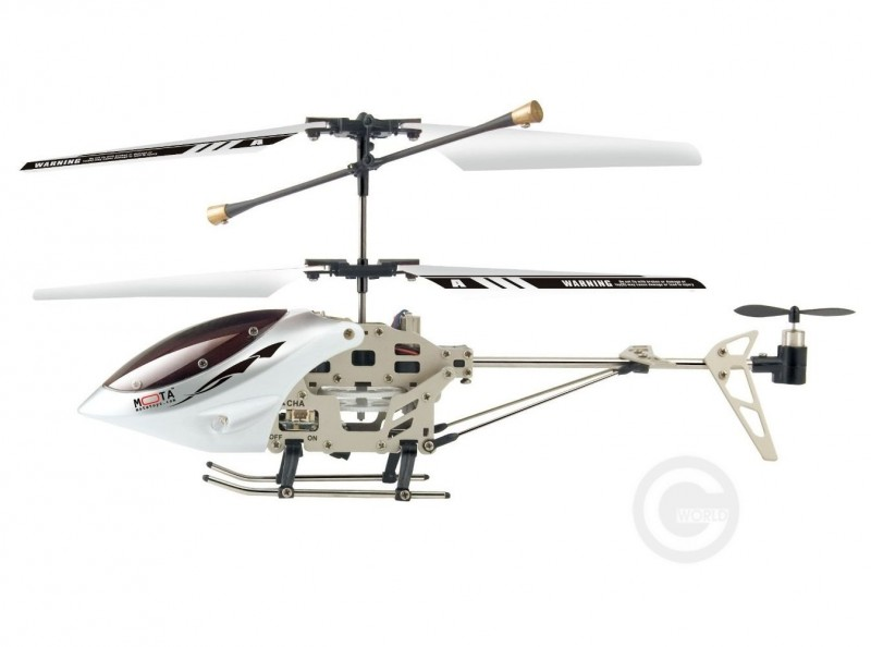 Helicopter Mota 6036 for iOS, White