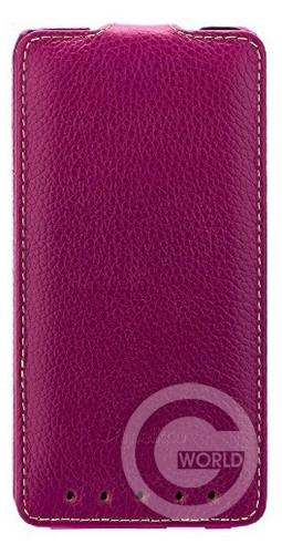 Чехол Melkco Jacka leather case для HTC One, purple