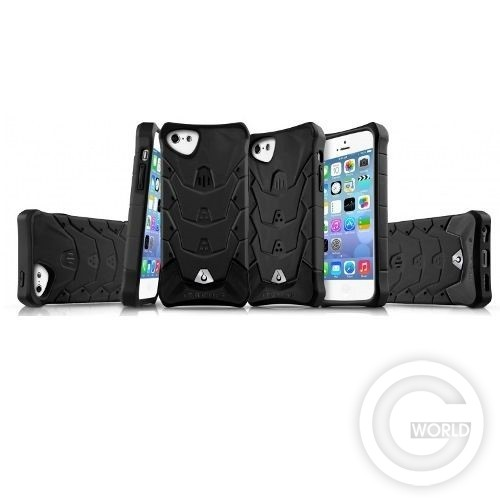Чехол ITSKINS Inferno for iPhone 5C Black Вид 2