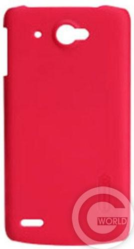 Чехол NILLKIN Lenovo S920 - Super Frosted Shield, red