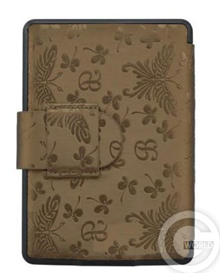 Купить чехол Leather Case для Amazon Kindle Paperwhite Butterfly, Gold Brown