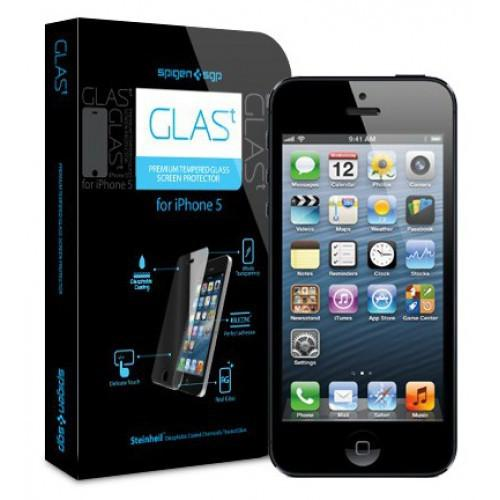 SGP Oleophobic Coated Tempered Glass for iPhone 5/5S