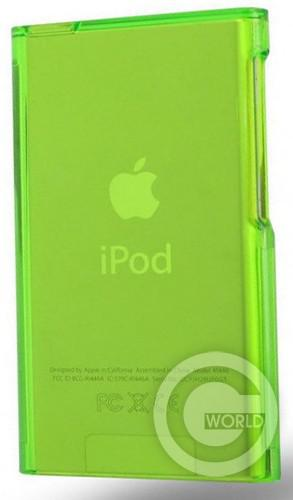 Чехол Silicon Case для iPod Nano 7th gen Green