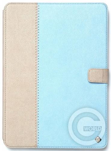 Купить Zenus iPad Air Leather Case Masstige Leather E-Note Diary Series, Sky Blue