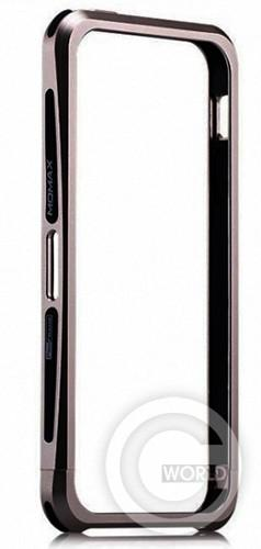 Купить чехол Momax Pro Frame New Edition для iPhone 5/5S, gray