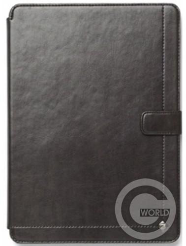 Купить Zenus iPad Air Synthetic leather Neo Classic Diary, Dark Grey